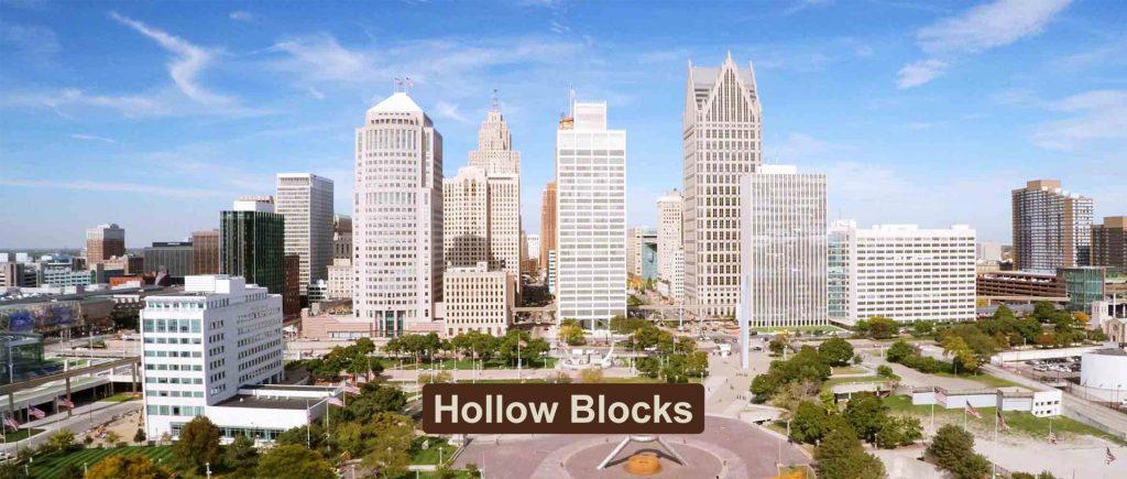 Hollow Blocks     Jindal Mechno Bricks